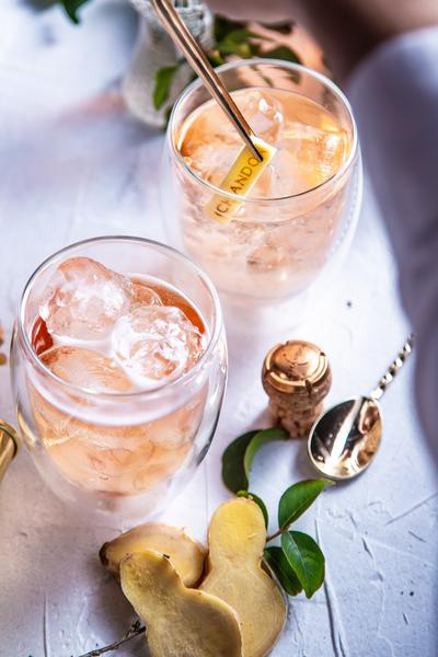 Ginger Passion: Chandon lança drink autoral com o Chandon Passion On Ice como protagonista